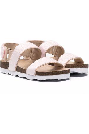 Kenzo Logo-print double strap sandals