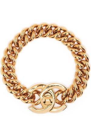CHANEL Women Bracelets - 1996 CC turn-lock chain bracelet