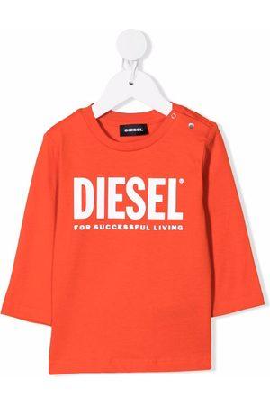 Diesel Baby Long Sleeve - Logo long-sleeve top