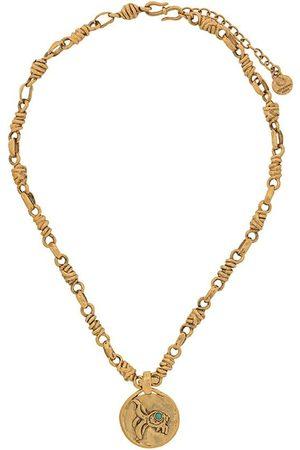 Goossens Talisman Pisces mini medal necklace