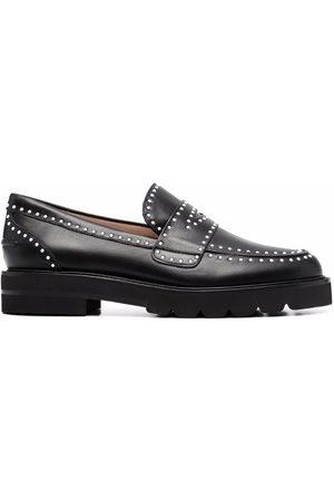 Stuart Weitzman Women Loafers - Parker studded loafers