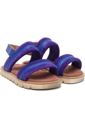 PèPè Iris double-strap leather sandals