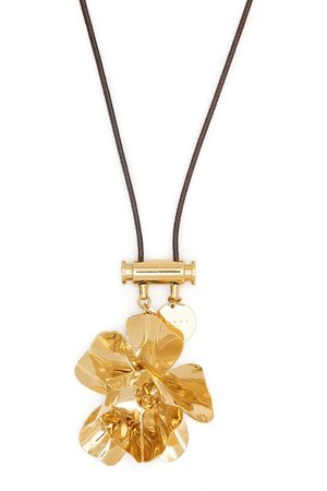 Marni Flower rope necklace