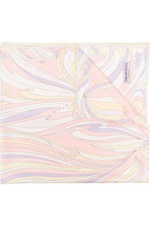 Emilio Pucci Vortici-print silk scarf