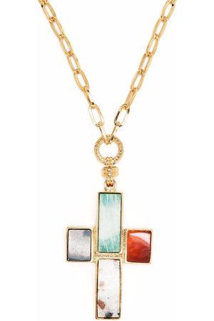 Gas Bijoux Cross pendant necklace
