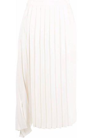 MM6 MAISON MARGIELA Asymmetric pleated midi skirt