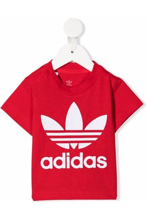 adidas Logo-print short-sleeved T-shirt