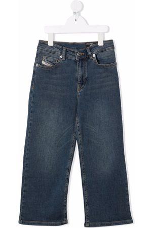 Diesel Girls Straight - High-rise straight leg jeans