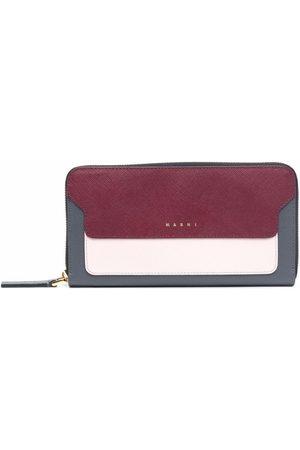 Marni Women Wallets - Colour-block zip wallet
