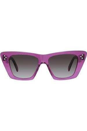 Céline 51MM Cat Eye Sunglasses