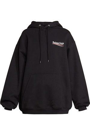 Balenciaga Women Sweatshirts - Medium-Fit Hoodie