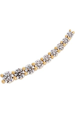 ALINKA 18kt gold DASHA Large diamond left cuff earring