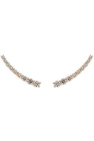 ALINKA Large 'DASHA' diamond slider earrings