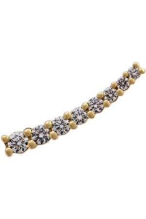 ALINKA Women Earrings - 18kt gold DASHA small diamond cuff earring