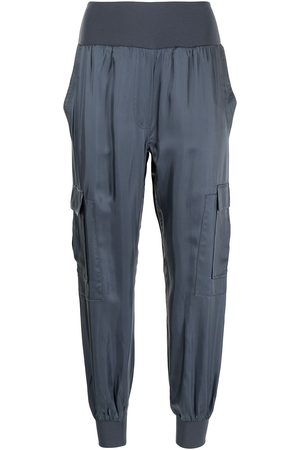 Cinq A Sept Tapered cargo cotton trousers