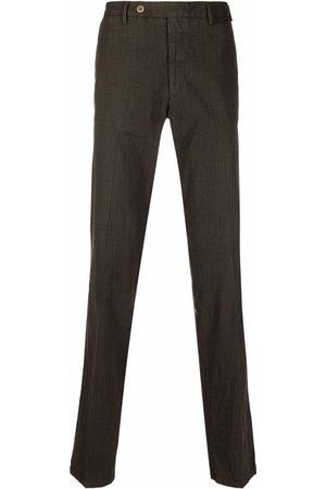 Rota Men Formal Pants - Mini check-pattern trousers