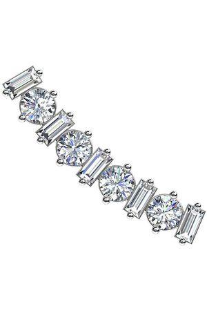 ALINKA Women Earrings - 18kt white gold Amalfi diamond ear cuff