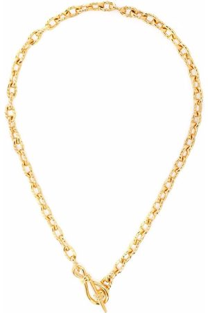 Missoma Twisted link T-bar chain necklace