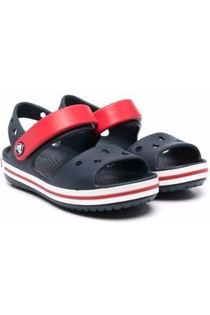 Crocs Round-toe colour-block sandals