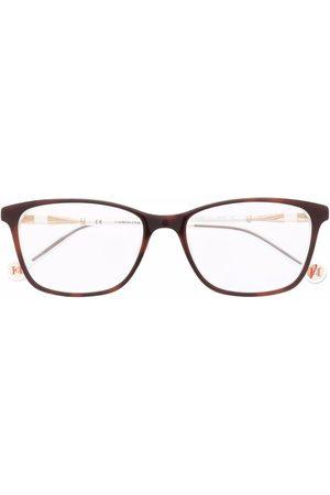 Carolina Herrera Square-frame clear glasses