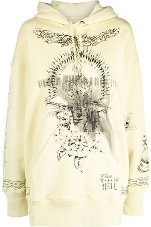 Givenchy Oversized printed hoodie
