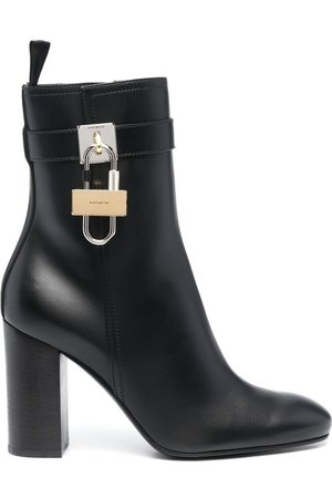 Givenchy Padlock-detail ankle boots