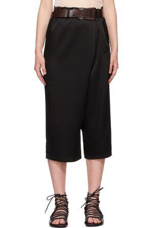 Ann Demeulemeester Satin Asymmetric Trousers