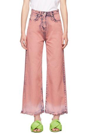 MSGM Tie-Dye Denim Jeans