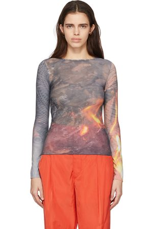 Serapis Multicolor 'In This Earthly Tent We Groan' Tech Long Sleeve T-Shirt