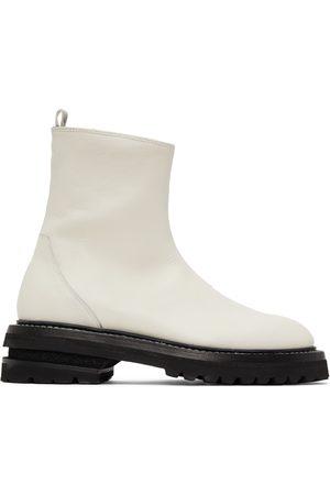 ADYAR SSENSE Exclusive Zip-Up Boots