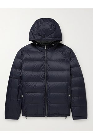 Brunello Cucinelli Oversized Quilted Shell Down Hooded Jacket