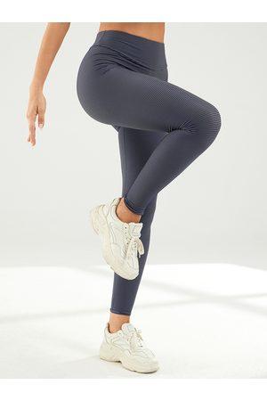 YOINS Striped Super Stretch High Waist Yoga Leggings