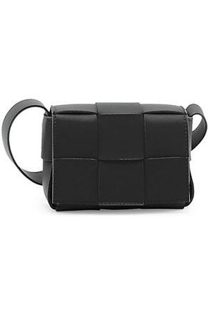 Bottega Veneta Leather Crossbody Card Case