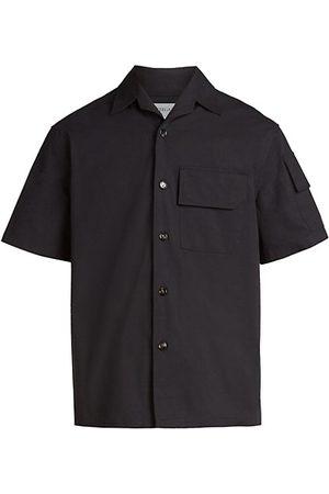 Bottega Veneta Men Casual - Light Cotton Canvas Shirt