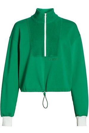 Staud Zip-Up Sweatshirt