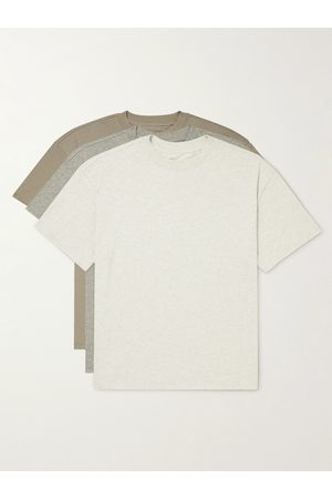 FEAR OF GOD Three-Pack Cotton-Blend Jersey T-Shirts