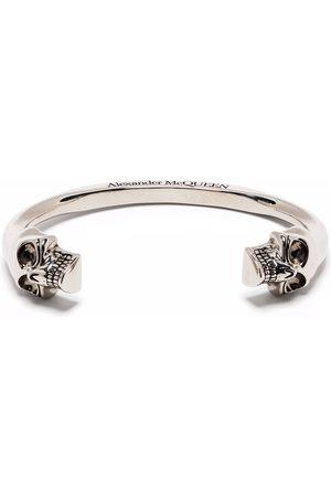 Alexander McQueen Double skull cuff