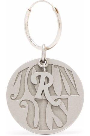 RAF SIMONS Join Us circular charm single earring