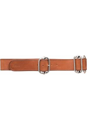 Gianfranco Ferré Pre-Owned 2000s metal detailing leather belt