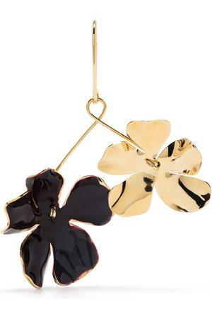 Marni Flora enamel earrings