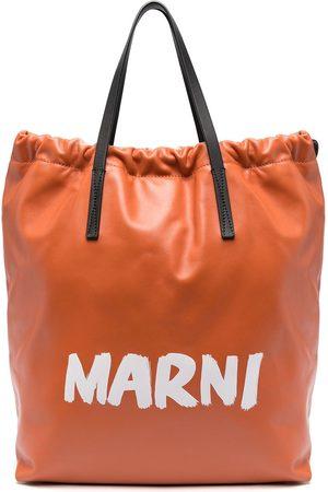 Marni Logo print backpack