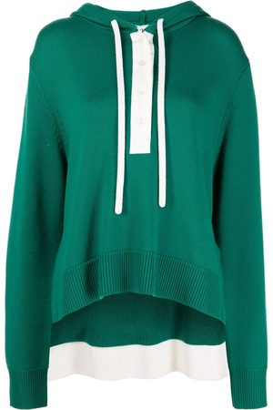 MONSE Rugby knit hoodie