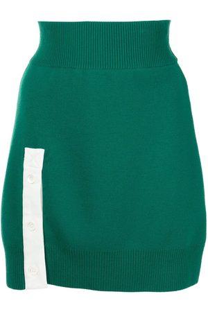 MONSE Women Mini Skirts - Rugby knit mini skirt
