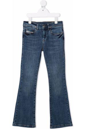 Diesel Girls Straight - Straight-leg denim jeans
