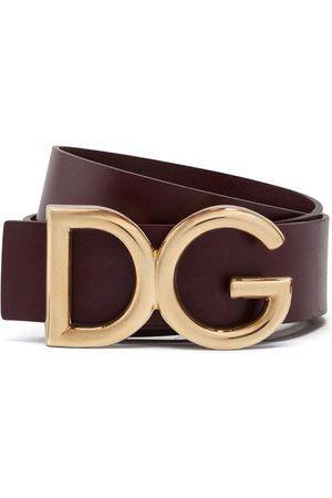 Dolce & Gabbana Men Belts - Logo-embellished belt