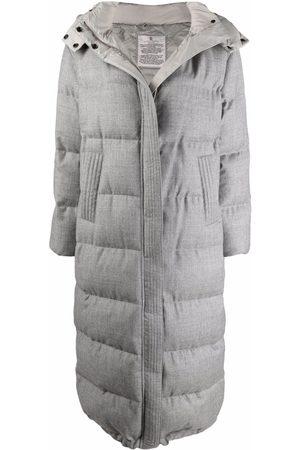 Brunello Cucinelli Long-sleeved puffer coat
