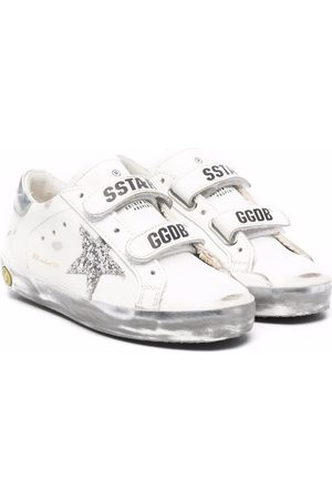 Golden Goose S-Star touch-strap sneakers