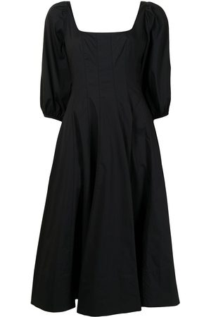 Staud Panelled fit and flare dress
