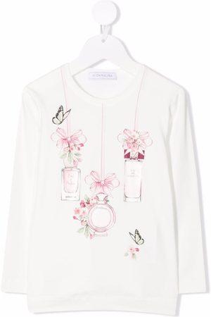 MONNALISA Graphic-print crew neck sweatshirt