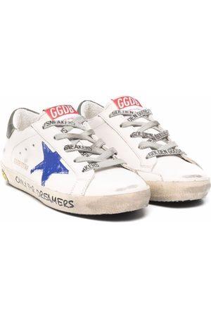 Golden Goose Boys Sneakers - Superstar low-top sneakers